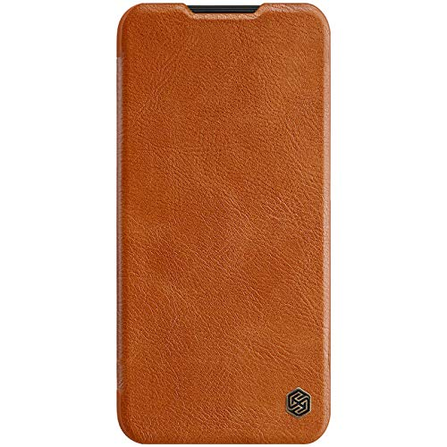 Nillkin Qin Series Luxury Leather Wallet Flipcover for Xiaomi Redmi Note 8 (Brown) 129
