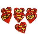 ½ Dz. Super Hero Cookies Hero, Valentine's Day , Classroom Treat