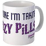 CafePress Crazy Pills Mug Unique Coffee Mug, Coffee Cup