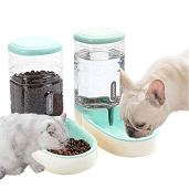 Lucky-M-Pets-Automatic-Feeder-Set-Green