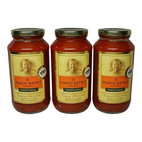 Mario Batali Tomato Basil Sauce 24 oz (3 Pack)