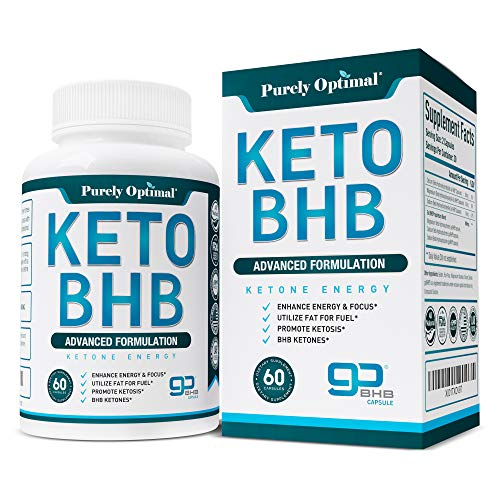 Premium Keto Diet Pills - Utilize Fat for Energy with Ketosis - Boost Energy & Focus, Manage Cravings, Support Metabolism - goBHB Ketogenic Supplements for Women and Men - 30 Day Supply