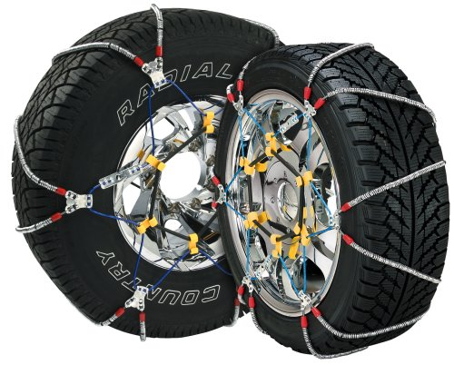 Security Chain Company SZ137 Super Z6 Cable Tire Chain for Passenger Cars, Pickups, and SUVs - Set of 2