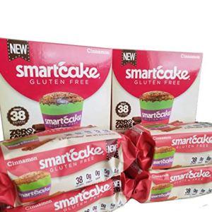 CINNAMON SMARTCAKE (8 cakes): Sugar free, gluten free, low carb, keto snack cake 516aovuZw3L