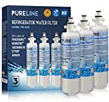 Compatible LT700P and Kenmore 9690 Refrigerator Water Filter Replacement with Advanced Filtration. Also Fits Kenmoreclear 46-9690, ADQ36006101, ADQ36006102, LFXS24623S - By PURELINE (3 Pack)