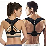 UPITOR Posture Corrector for Women Men|Adjustable Back Straightener Back Brace for Upper Back Pain Relief|Correct Slouching,Hunching & Bad Posture|Upright Posture Trainer for Spinal Alignment Support