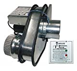 Dryer Booster Duct Fan,60Hz,120VAC,50W