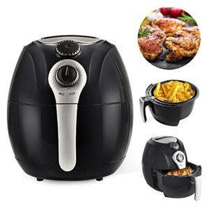 Simple Chef Air Fryer - Air Fryer For Healthy Oil Free Cooking - 3.5 Liter Capacity w/Dishwasher Safe Parts 2
