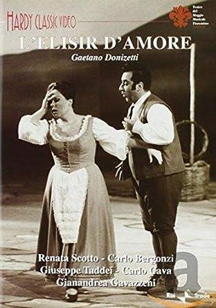 L Elisir D Amore: Amazon.it: Carlo Bergonzi: Film e TV