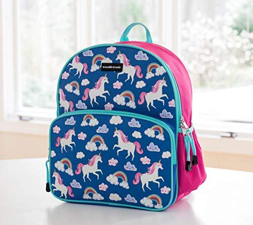 Crocodile Creek 4648-5 Eco Kids Unicorn Backpack, Purple, Pink