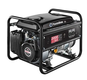 Power Boss 30665 Gas Powered Portable Generator with 79cc Engine, 1150W