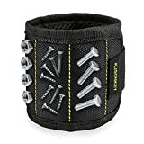 Magnetic Wristband, Kusonkey 15 Magnets Holding Screws Nails Drill Bits Gifts Gadgets Tools Gift for...