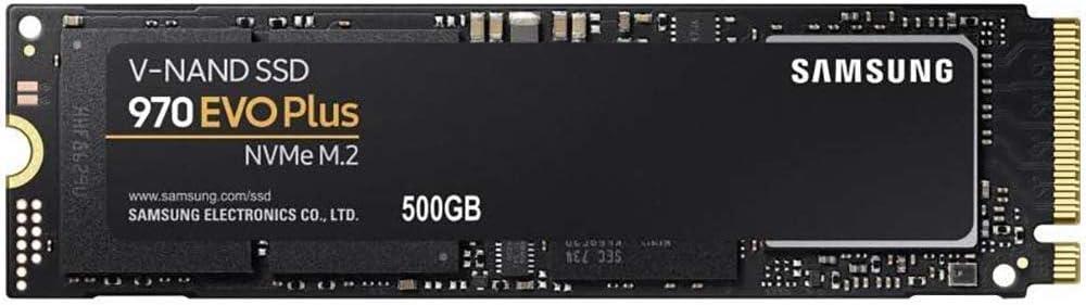 Samsung SSD Interne 970 EVO Plus NVMe M.2 (500 Go) - MZ-V7S500BW