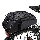 COTEetCI Mountain Road Bike Saddle Bicycle Cycling Rear Seat Rack Trunk Bag Pack Pannier Carrier Shoulder Bag