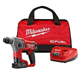 Milwaukee 2416-21XC M12 FUEL 12-Volt Lithium-Ion 5/8 in. Rotary Hammer Kit