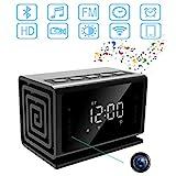 Camera -Bluetooth-Speaker-Alarm-Clock/FM Radio/WiFi Camera Clock/Baby Monitor
