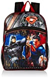 Warner Brothers Boys' Batman Vs. Superman Backpack, Grey/Black