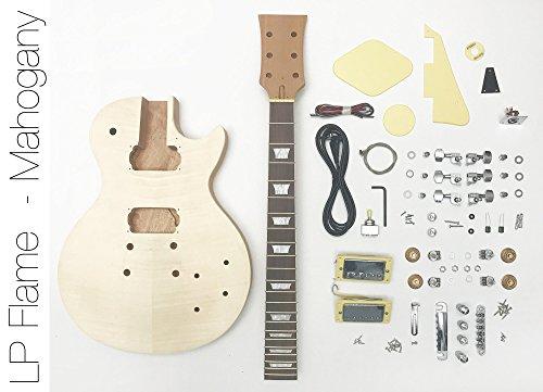 DIY Electric Guitar Kit singlecut Mahogany Style Build Your Own Guitar Kit