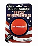 KINREX Donald Trump Funny Gag Gifts - Mr. President Talking Sound Button - Noise Maker with 18 Crazy & Greatest Phrases