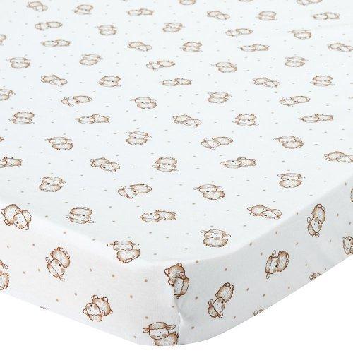 Babies R Us Knit Bassinet Sheet - Lamb
