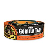 Gorilla Tape, Black Duct Tape, 1.88' x 35 yd, Black, (Pack of 1)