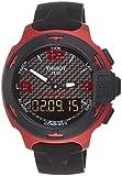 Tissot T-Race Touch Aluminium Black Dial Black Silicon Mens Sports Watch T0814209720700