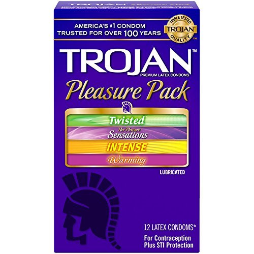 Trojan Condom Pleasure Pack Lubricated