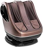 uKnead Leg Massager - Shiatsu Calf and Foot Rollers, Air Compression and Heat