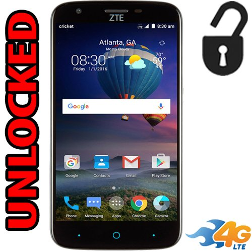 Zte Grand X3 Unlocked 4G LTE Android 5.5 inch 8mp Flash 16GB Quad Core Unlocked z959
