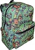 Nickelodeon Jr Boy's TMNT 16' School Bag Backpack w/ Laptop Pocket