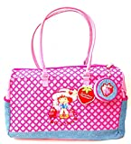 Kids Strawberry Shortcake Large Tote Zip Up Bag