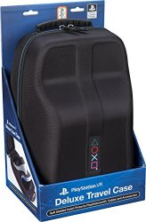 RDS Industries PlayStation VR (PSVR) Headset and Accessories Deluxe Carrying Case – PlayStation 4