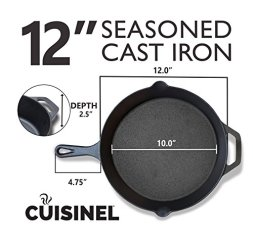 Pre-Seasoned-Cast-Iron-Skillet-Set-Oven-Safe-Cookware-Indoor-and-Outdoor-Use-Grill-Stovetop-Induction-Safe