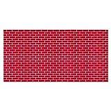 Fadeless Designs Paper Roll, Tu Tone Brick, 48 Inches x 50 Feet