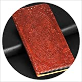 Flip Case for iPhone X Luxury Magnetic Leather Stand Wallet Book Cover for iPhone 6 6S 7 8 Plus X 5 5s Se 5se Coque Etui Funda,Dark Brown,for iPhone 6 6s Plus