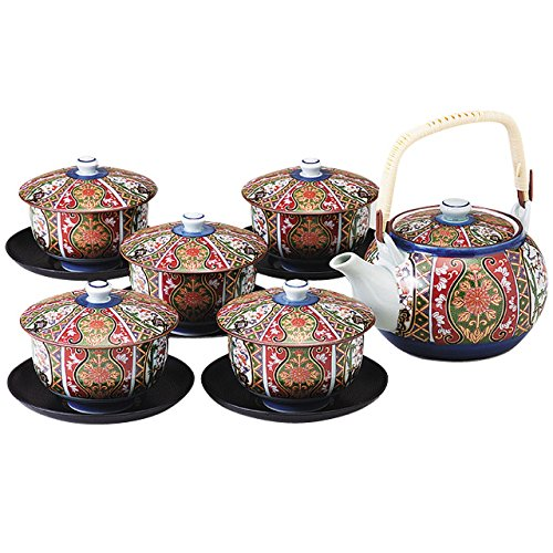 Imari porcelain saucers with brocade crop instrument assortment 157 281 (japan import)