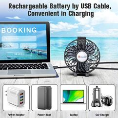 VersionTECH-Mini-Handheld-Fan-USB-Desk-Fan-Small-Personal-Portable-Table-Fan-with-USB-Rechargeable-Battery-Operated-Cooling-Folding-Electric-Fan-for-Travel-Office-Room-Household-Black