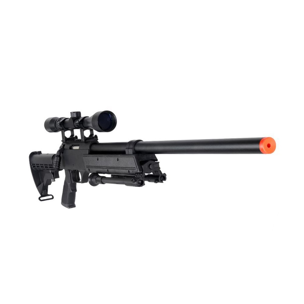 Well MB06AB Airsoft Bolt Action Sniper Rifle with Scope & Bipod