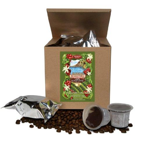 Hawaii Roasters 100% Kona Coffee, Single Serve For Keurig K-Cup Brewers, Medium Roast, 10-Pack net weight 4.6oz