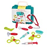 Battat - Deluxe Doctor Kit - Pretend Play Doctor Set for Kids 3 Years + (11-Pcs)