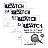 The Ultimate Flea Trap Refills – Disposable Flea Glue Refill Discs for Victor M230A Traps 4 pack of 3 (12 Total)