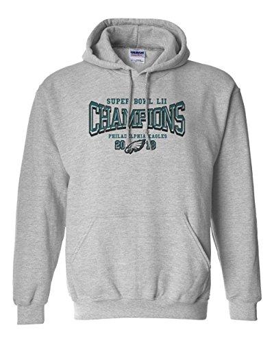 2018 Super Bowl Lii 52 Champions Eagles Men s Hooded Sweatshirt ... 44b703e9e