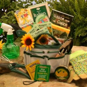 Gluten free dairy free prime gift box basket yummy treats almost 2 weekend gardener tote gift basket for women negle Images