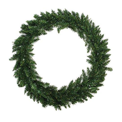 Northlight 48' Buffalo Fir Artificial Christmas Wreath - Unlit