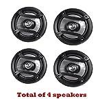 4 X Pioneer TS-165P 6.5in Inch 2-Way Car Audio Speakers - Car Spekaer Package (Renewed)