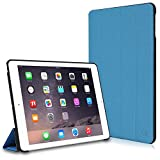 iPad Air 2 Case, CaseCrown Omni Case (Blue) Multi-Angle Viewing Stand & Sleep/Wake