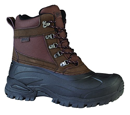 Ranger Cabot 9' Men's Suede & Nylon Thinsulate Winter Boots, Coffee Bean & Black (RP106)