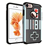iPhone 6S Case, DURARMOR iPhone 6 4.7 inches [Lifetime Warranty] Vintage Nintendo NES Game Controller Dual Layer Hybrid Bumper ShockProof Ultra Slim Fit Armor Air Cushion Defender Protector Cover