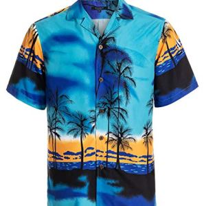 YEAR IN YEAR OUT Mens Hawaiian Shirt Regular Fit Hawaiian Shirts for Men with Quick to Dry Effect 16 Fashion Online Shop 🆓 Gifts for her Gifts for him womens full figure