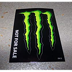 """Monster Energy Drink Decal Sticker""""4 x 3 inches"""" (1)"""